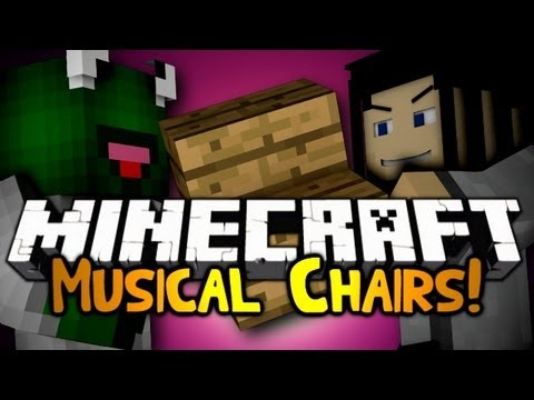 Minecraft: Mini Game: Musical Chairs! w/ Gizzy & Friends!