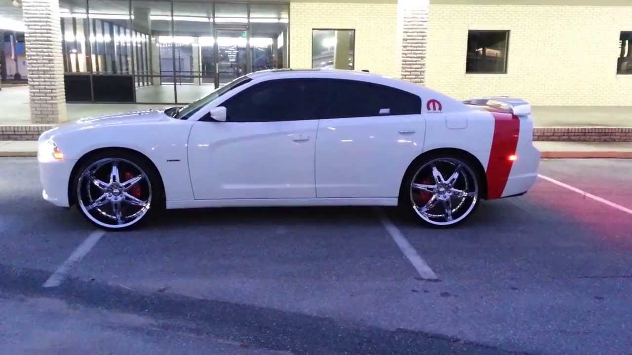 2011 Dodge Charger RT 24s  YouTube