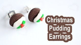 Christmas Pudding Earrings // VLOGMAS DAY 24