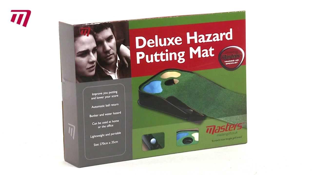 Masters Golf Deluxe Hazard Putting Mat Pe076 Youtube