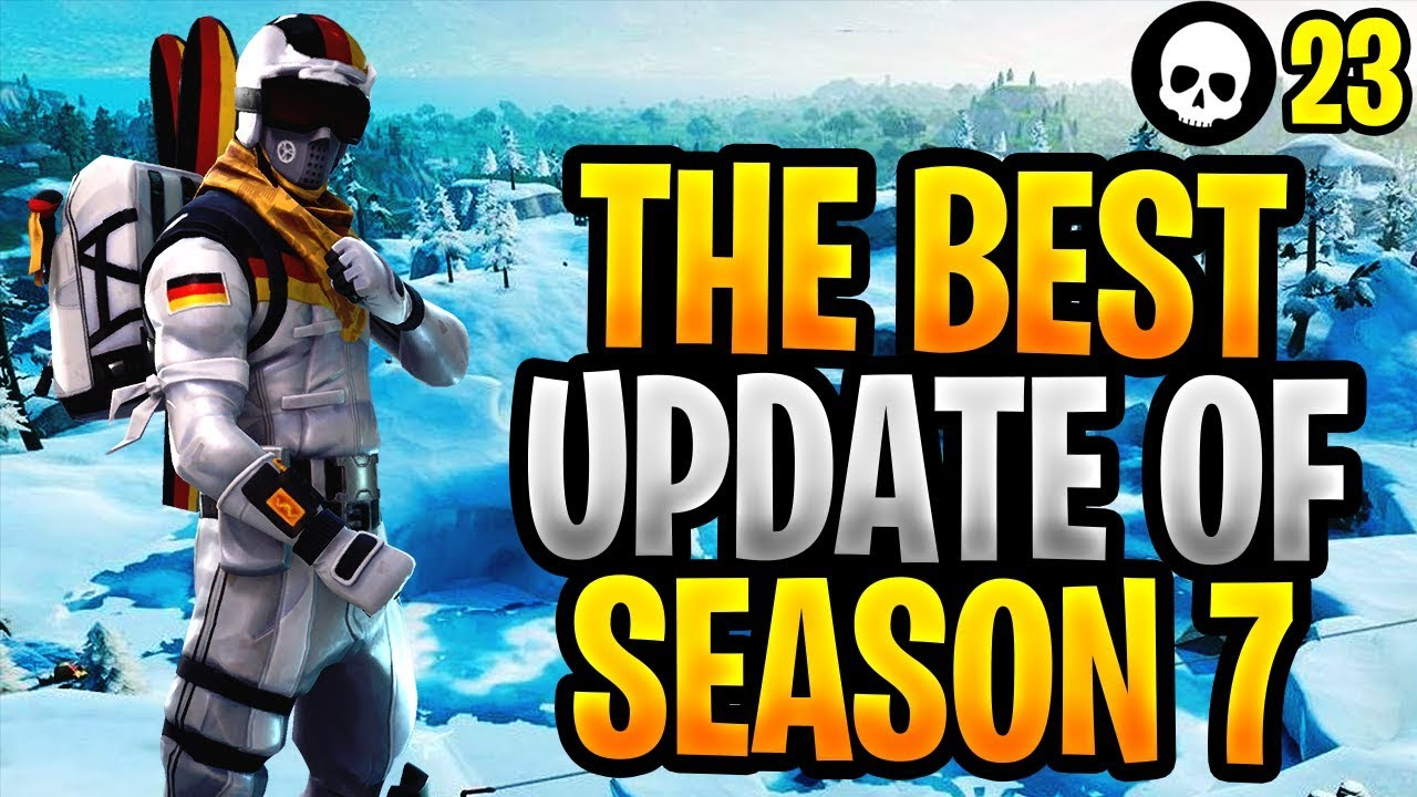Das BESTE neue Update von Fortnite Season 7! (Fortnite New Weapon Gameplay-Änderungen) + video