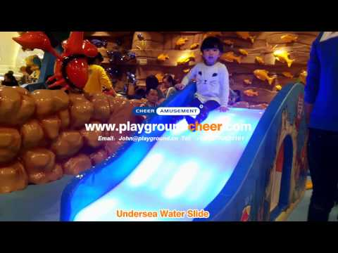 Undersea Water Slide I Indoor Playground Equipment |Cheer Amusement