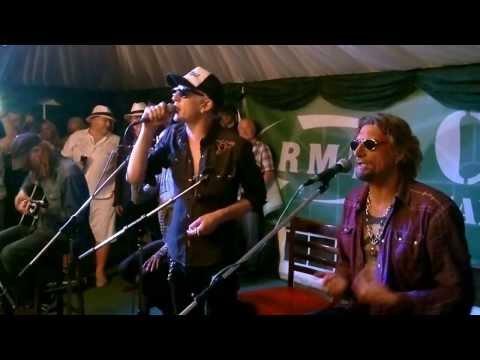 Bob Crow and the Alabama 3 @ RMT CUBA Garden Party 2013