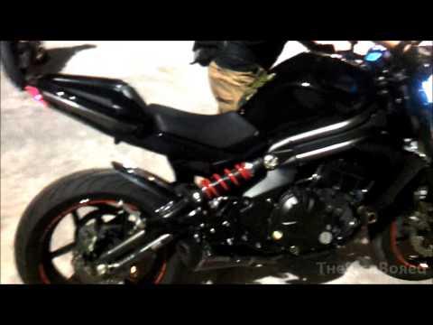 2012 Kawasaki ER-6n Scorpion Carbon Full System Exhaust
