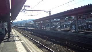 JR舞鶴線京都丹後鉄道KTR8000形気動車丹後の海車両特急まいづる4号東舞鶴駅行き西舞鶴駅到着