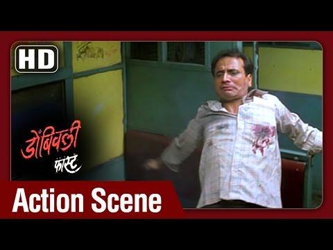 Dombivali Fast - Madhav Gets Killed In Encounter - Sandeep Kulkarni - Best Action Highlights