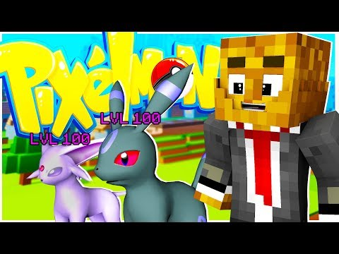 UMBREON AND ESPEON ARE THE BEST! - MINECRAFT PIXELMON POKEPLAY.io JOHTO #4
