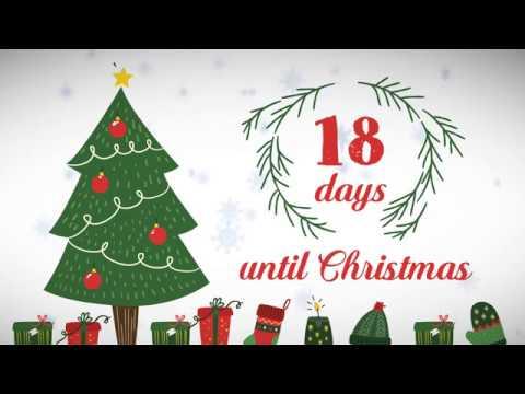 xmas counter days until christmas 18