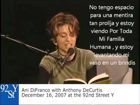 Ani DiFranco Self Evident Subtítulos en Español