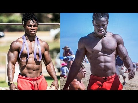 African Beast Alseny Sylla | Crossfit Workout and Acrobats