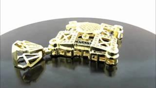 Premium Micro Pave diamond Pendant(PEP035-04GR) Thumbnail