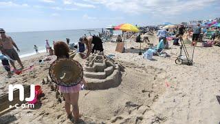 Time-lapse: N.J. Sandcastle Contest in Belmar