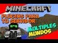 Minecraft: Plugins para tu Servidor - Como Crear Multiples Mundos (Multiverse)