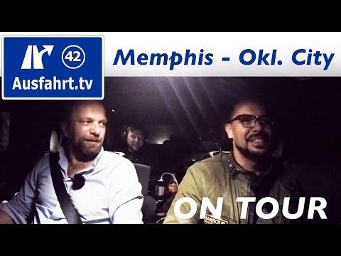 USA-Roadtrip Coast to Coast: Memphis - Oklahoma City #mbc2c #mbrtc2c16 Ausfahrt.tv on tour