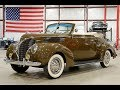 1938 Ford Deluxe Cabriolet Brown