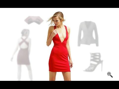 Enge sexy Partykleider in Kurz & Rot + 3 Sexy Outfit Ideen für ...