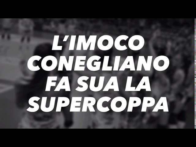 Imoco Volley Conegliano alza a Vicenza la Supercoppa
