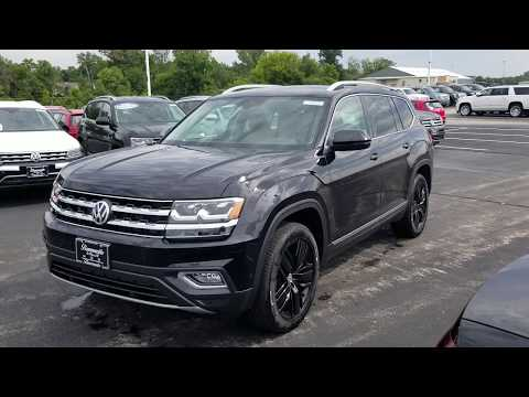 2018 VW Atlas 3.6 SEL Premium 4Motion and captain's chairs