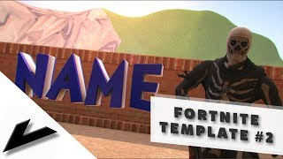 FREE FORTNITE TEMPLATE #2 - Now Available | by Vace