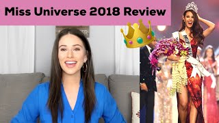 MISS UNIVERSE 2018 REVIEW | Who Should Have Placed | Top 5 Theory thumbnail