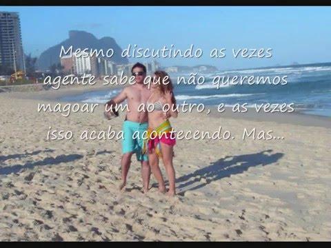 Declaração de amor Gabriela Coelho e Fabio Brum
