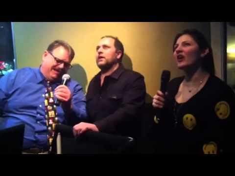 Realtor karaoke at Ciao Baby in Commack