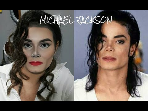 michael jackson makeup transformation youtube