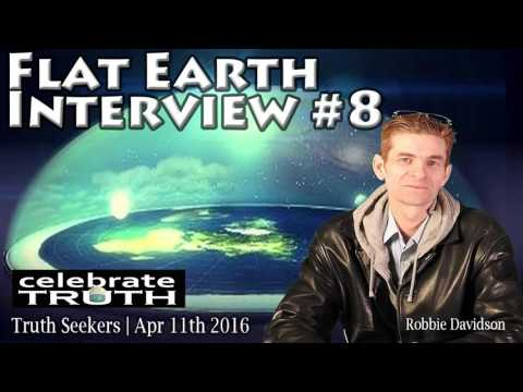CT Flat Earth Interview #8 - Robbie Davidson on Truth Seekers w/Angeline Marie