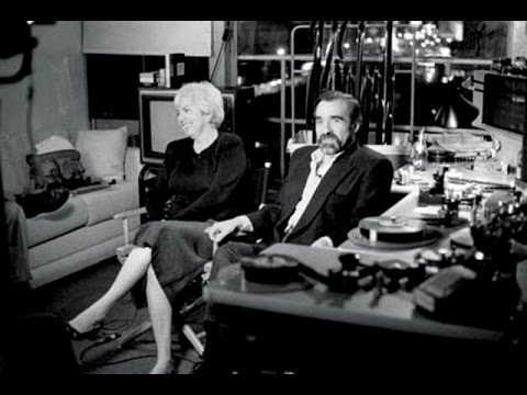 Martin Scorsese, Thelma Schoonmaker & Michael Powell in the Editing ...