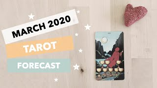 2020 March Tarot Forecast: Spring cleanse and declutter 🌺