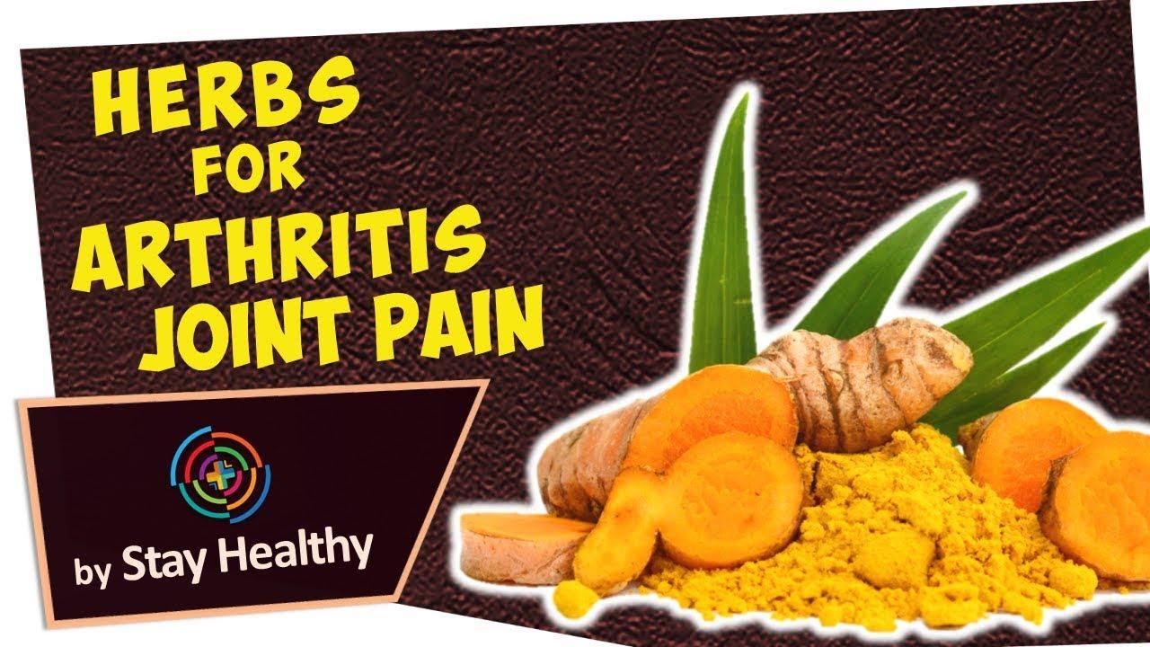 5 Herbs for Arthritis & Joint Pain #Herbalmedicine