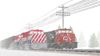 Northern Canada Rail Fanning [Roblox]