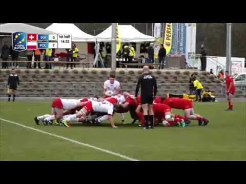 SWITZERLAND - POLAND, Rugby Europe Trophy - 17.03.2018