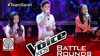"The Voice Kids Philippines 2015 Battle Performance: ""True Colors"" by Alexia vs Kyle vs Jolianne"