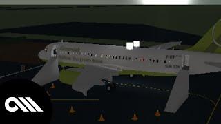 [ROBLOX] GreenJet A318 Flight