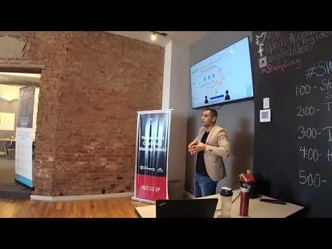 """8 Years of Blockchain in 1 Year"" - Presentation for Cincinnati Startup Week 2017 by Jad Mubaslat"