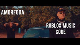 Amorfoda - BadBunny ROBLOX Musikcode 2018 - 2019