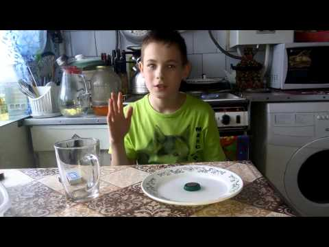 Загадка и разгадка про воду стакан и спички.