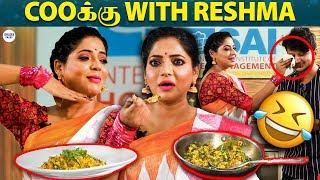 Reshma Pasupuleti's Spicy Paneer Bhurji | Cooku with Reshma | Vijay Tv | LittleTalks