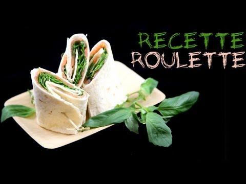 Recette : Wrap au saumon et basilic