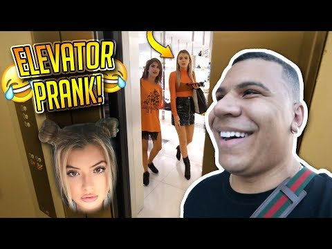 Thumbnail: SCARY ELEVATOR PRANK ON ALISSA VIOLET FT. FAZE BANKS