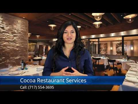 Cocoa Restaurant Services Hershey Impressive5 Star Review by Matt B