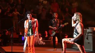 """Download """"Under Pressure"""" Foo Fighters & Luke Spiller of The Struts@The Garden New York 7/17/18 Mp3 and Videos"""