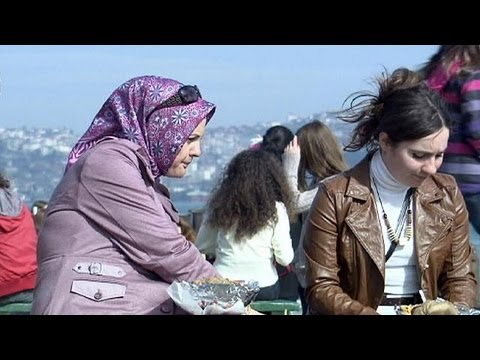 Ending ban on Islamic headscarf divides Turkey