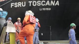 Partenza   OLT Offshore LNG Toscana