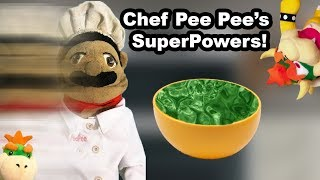 SML Movie: Chef Pee Pee's SuperPowers!