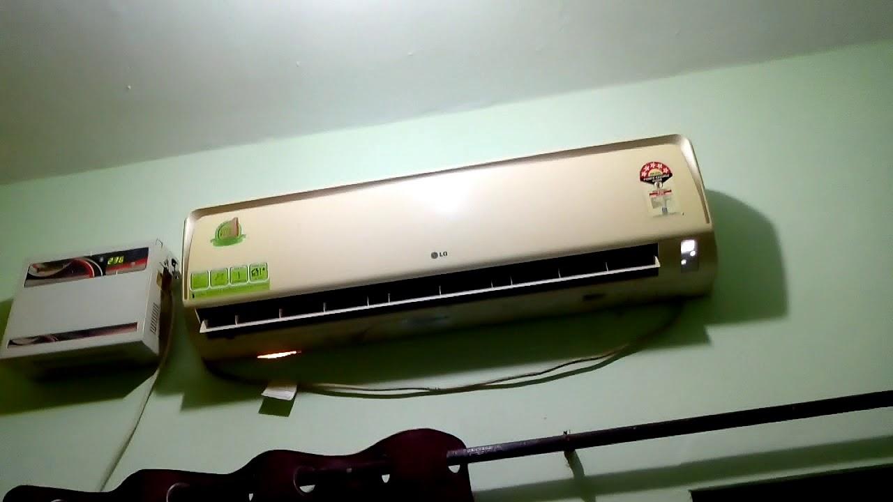 Lg split air conditioner noise problem