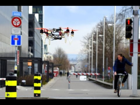 Dronet: Learning to Fly by Driving
