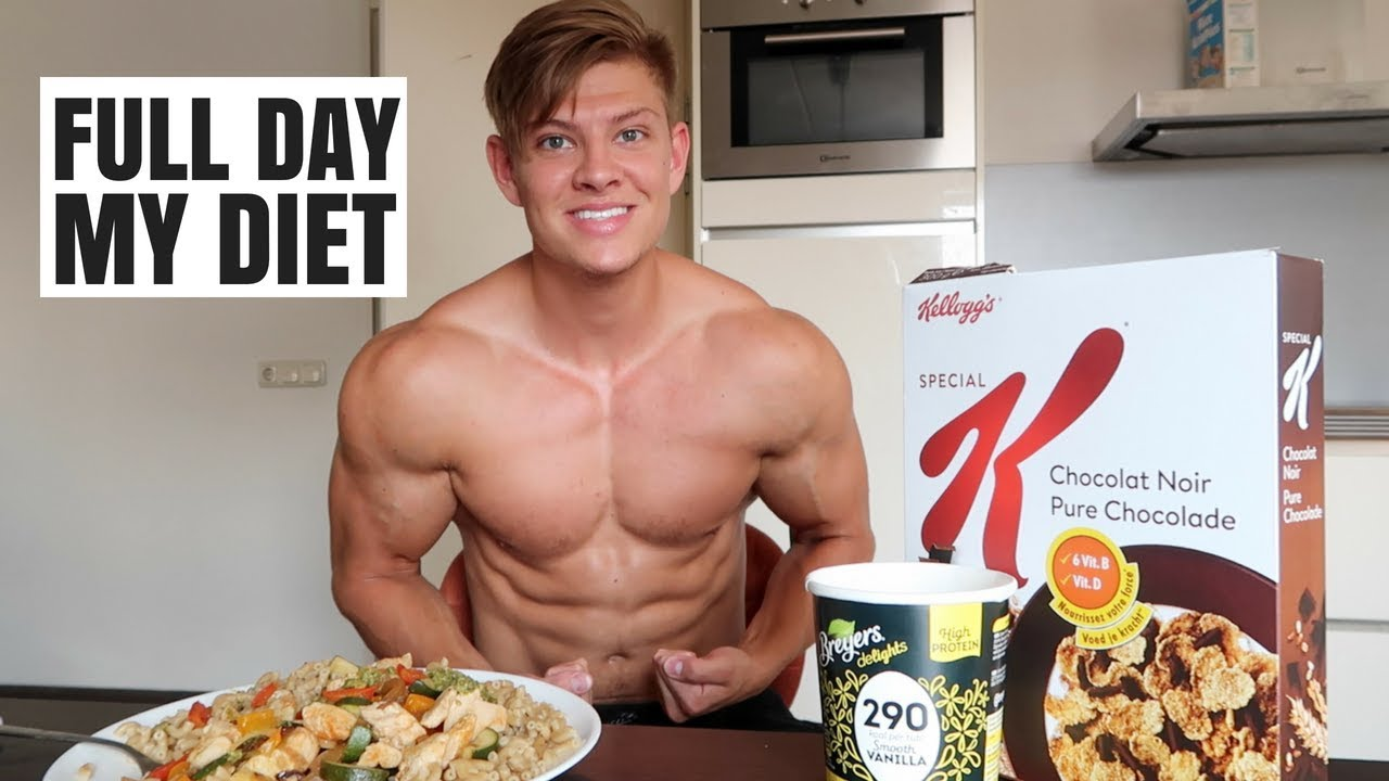 can you get ripped on a regular diet