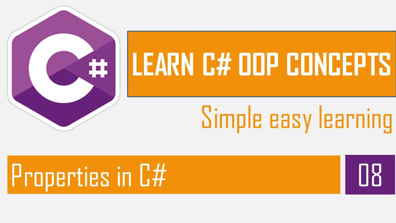 Properties in C#   OOP in C# Part-7